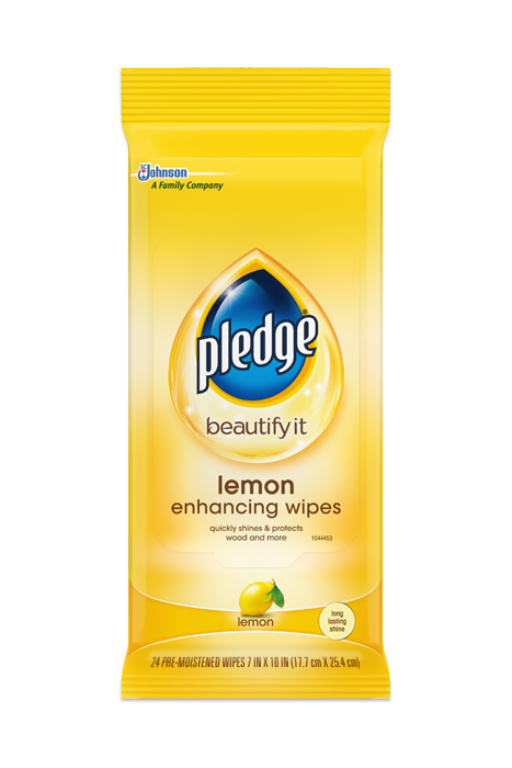 lemon clean wipes