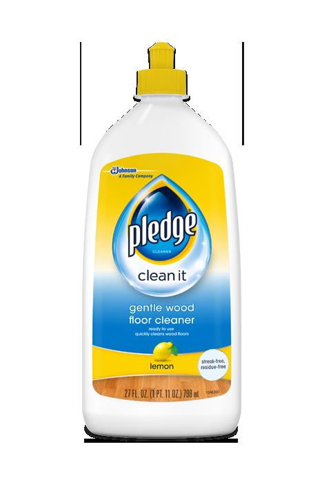 Gentle Wood Floor Cleaner Pledge