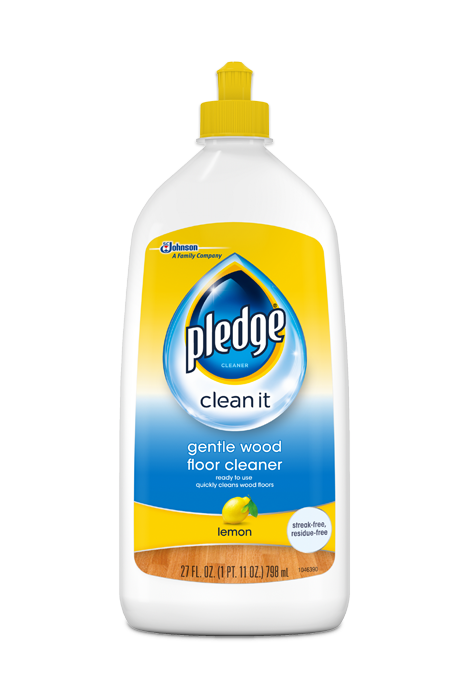 Gentle Wood Floor Cleaner Pledge 174